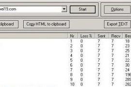 网站监测工具:超强的Tracert工具(WinMTR) 0.9.2 绿色免费版